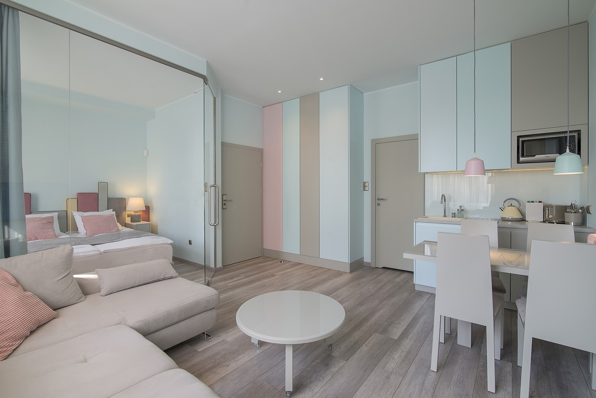 Dwa apartamenty w Centrum Sopotu