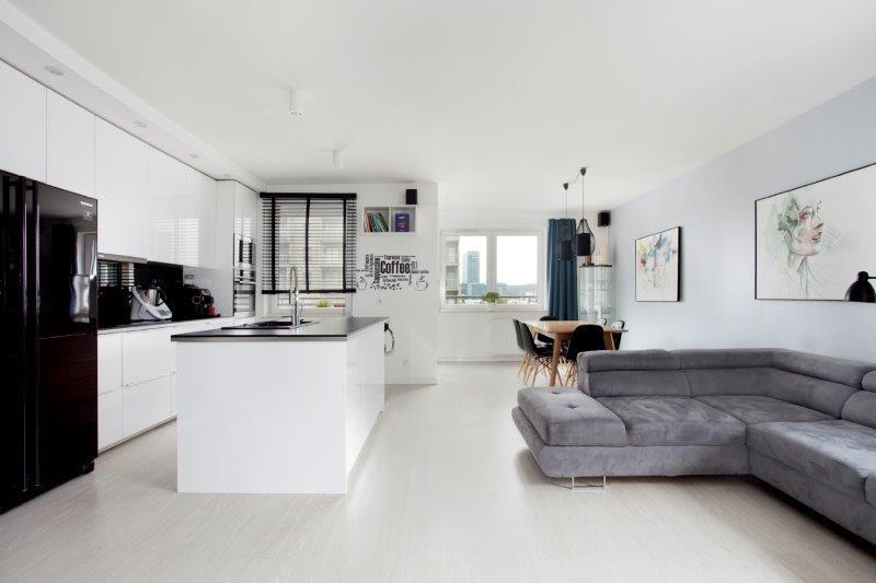 Przestronny apartament na Przymorzu
